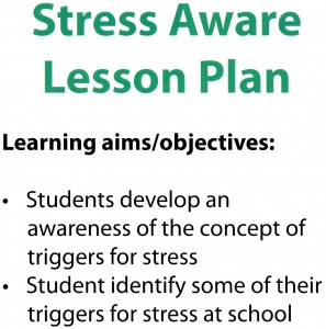 stress aware lesson plan